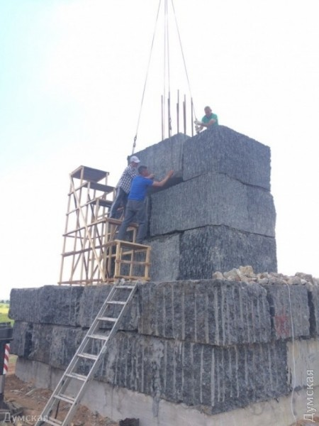 picturepicture_72291847149817_91337 В Тарутинском р-не устанавливают памятник, который может войти в Книгу рекордов Гиннеса
