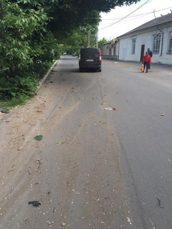 wQfu9RC5Q3c Измаил: в результате ДТП на Болградской пострадали два автомобиля