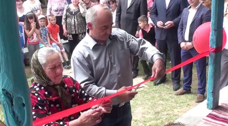 1-23 В Болградском районе открыли дом-музей болгарского быта и культуры