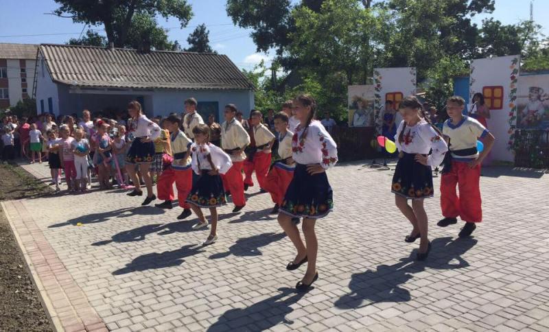Килийский район: в селе Лески состоялось торжественное открытие парка культуры и отдыха (фото)