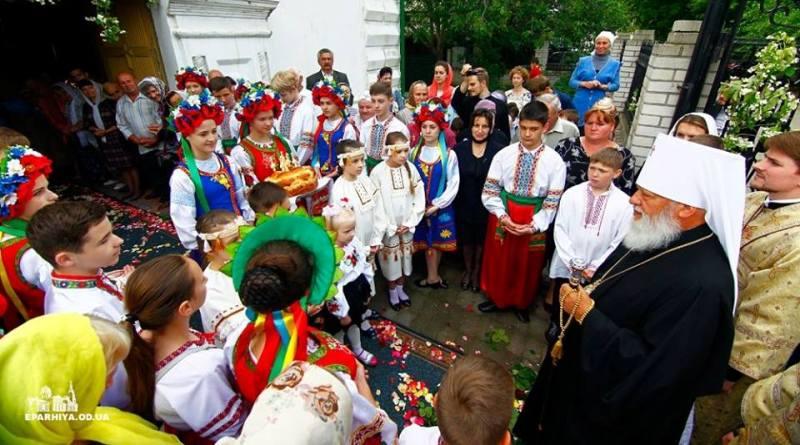 13319738_106108416480662_7318539382500159295_n Митрополит Агафангел совершил Божественную литургию в Свято-Николаевском храме Килии