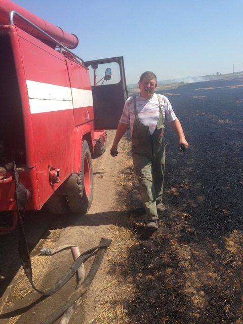 13557724_243621829353869_6580702769559830044_n В Килийском районе спасли от пожара поле с урожаем пшеницы