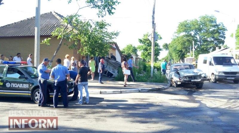 5759876e4aa3c_VT-l56gaLPQ-1 Измаил: на пересечении Б-Днестровской и Покровской - серьезное ДТП (фото)
