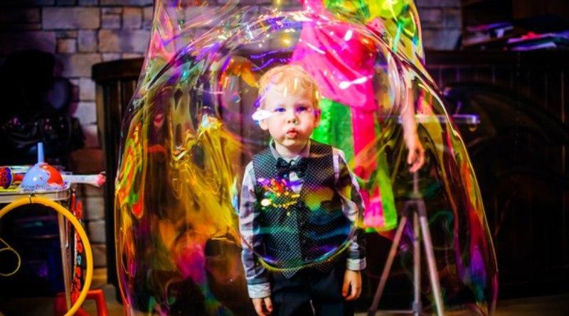 Шоу мыльных пузырей своими руками и домами