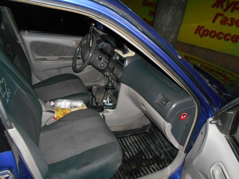 DSCN0474 В Измаиле таксист нашел в салоне своего автомобиля оружие (фото)