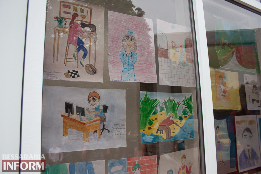 IMG_0064 Измаил: дети определялись с профессией с помощью творчества (ФОТО)