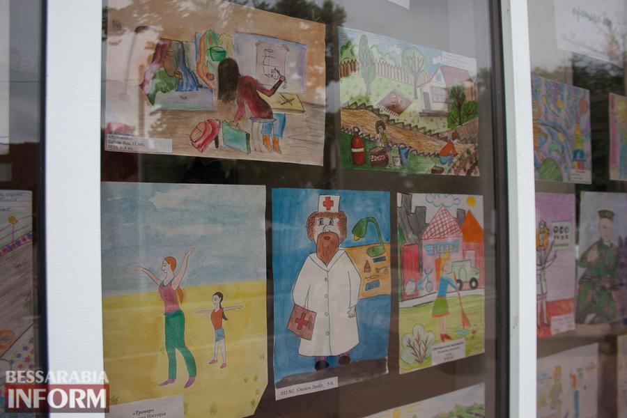 IMG_0068 Измаил: дети определялись с профессией с помощью творчества (ФОТО)