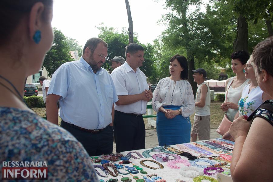 В Измаиле прошли торжества по случаю Дня Конституции (ФОТО)