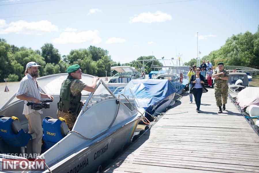 SME_2785 Измаильским журналистам показали работу пограничников (ФОТО)