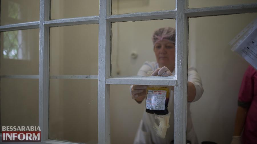 SME_4753 За год измаильчане сдали 650 литров крови (ФОТО)