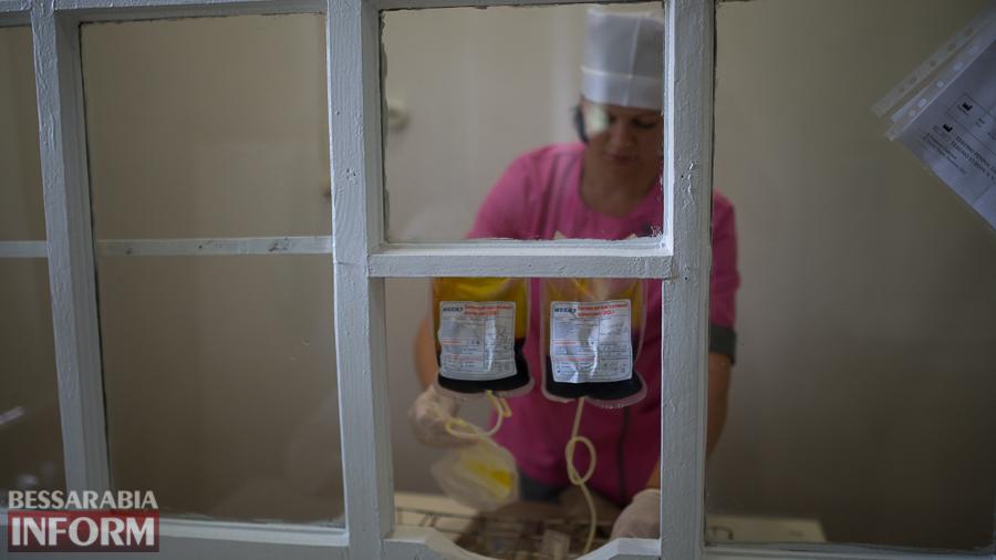 SME_4755 За год измаильчане сдали 650 литров крови (ФОТО)