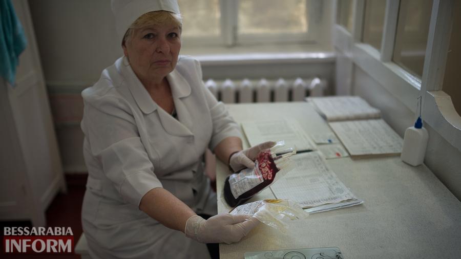 SME_4759 За год измаильчане сдали 650 литров крови (ФОТО)