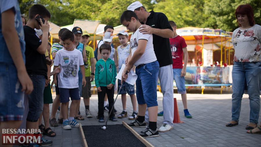 SME_5173 Возрождение мини-гольфа в Измаиле - на сей раз играли дети (ФОТО)