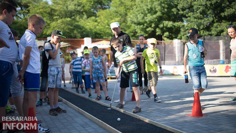 SME_5183 Возрождение мини-гольфа в Измаиле - на сей раз играли дети (ФОТО)