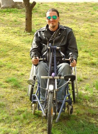 Измаильчанин мечтает развить в родном городе паравелоспорт