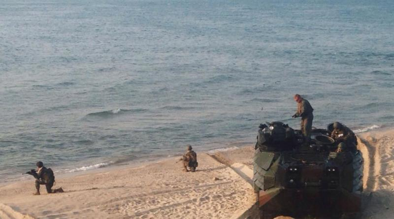 2-4 В Татарбунарском районе десантировались американские морпехи (фото)