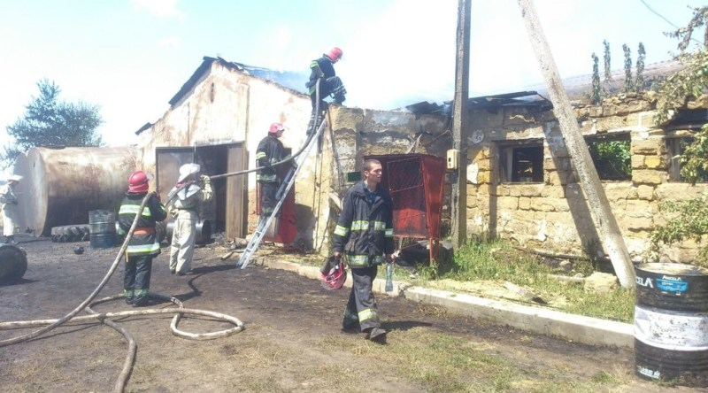 276050 На севере области три человека пострадали из-за возгорания бензовоза