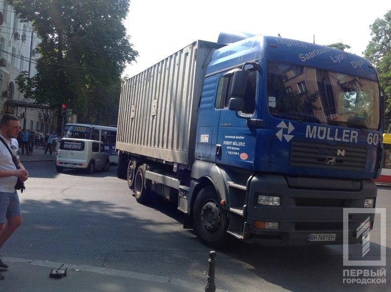 Измаильчане перекрыли одну из главных улиц Одессы (фото)