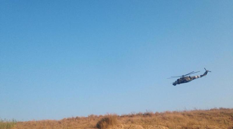 В Татарбунарском районе десантировались американские морпехи (фото)