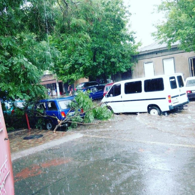 5sFp8m-l7i0 Шквальный ветер в Измаиле поломал деревья и пообрывал провода (ФОТО)