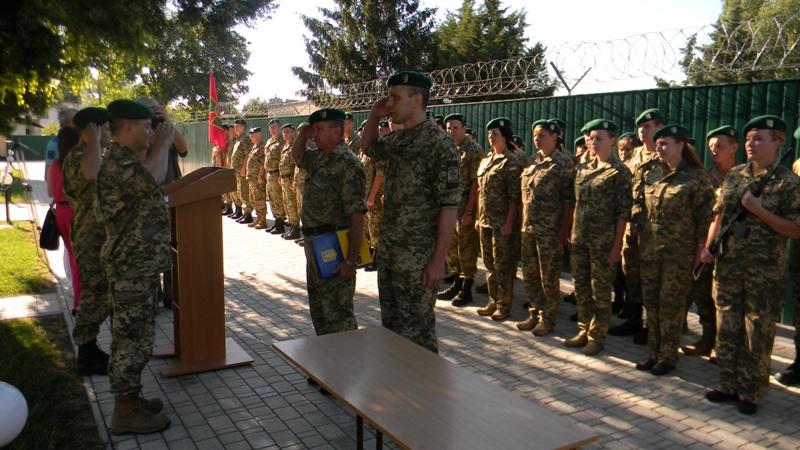 DSCN3288 В Измаильском пограничном отряде присягнули на верность украинскому народу