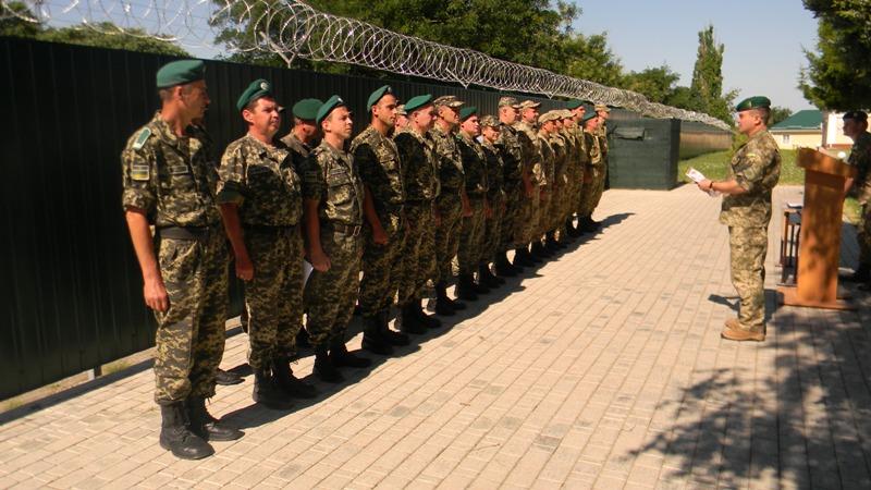 В Измаильском пограничном отряде прошла очередная демобилизация (фото)