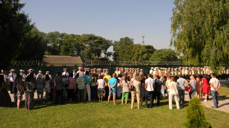 В Измаиле еще 20 срочников отряда морской охраны присягнули на верность украинскому народу