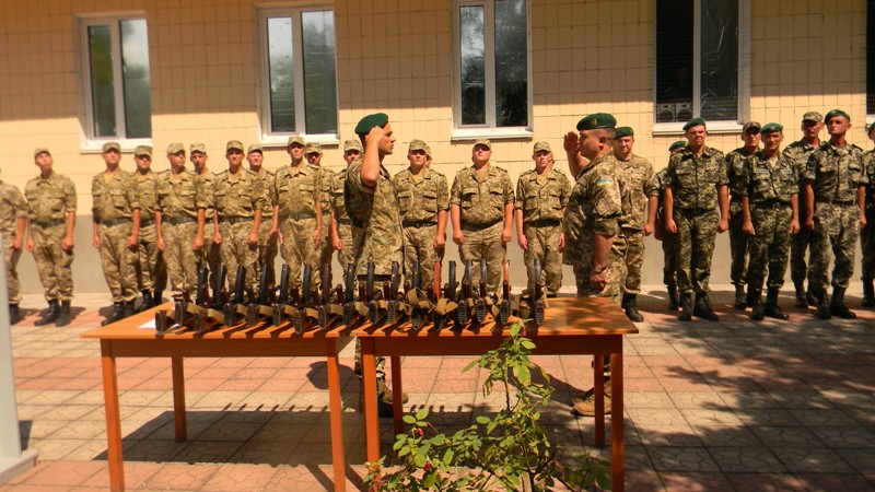 """Пограничный отдел """"Вилково"""" пополнил свои ряды солдатами-срочниками"""
