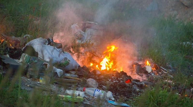 Ночью в Ленобласти случился пожар на кладбище