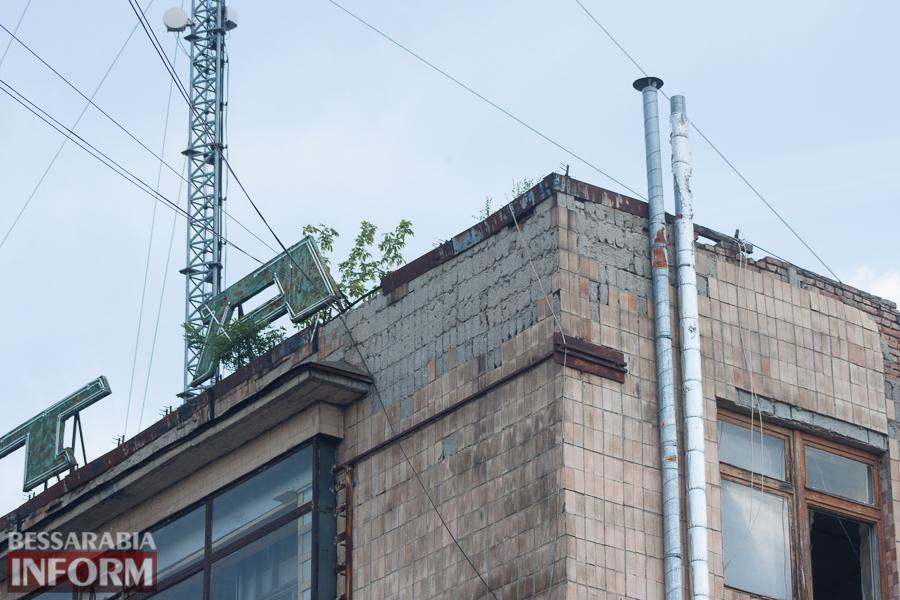Где в Измаиле можно получить кирпичом по голове (ФОТО)