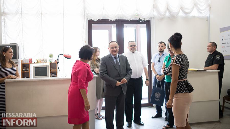 SME_9532 Измаил посетил Генеральный консул Польши в Одессе  (ФОТО)