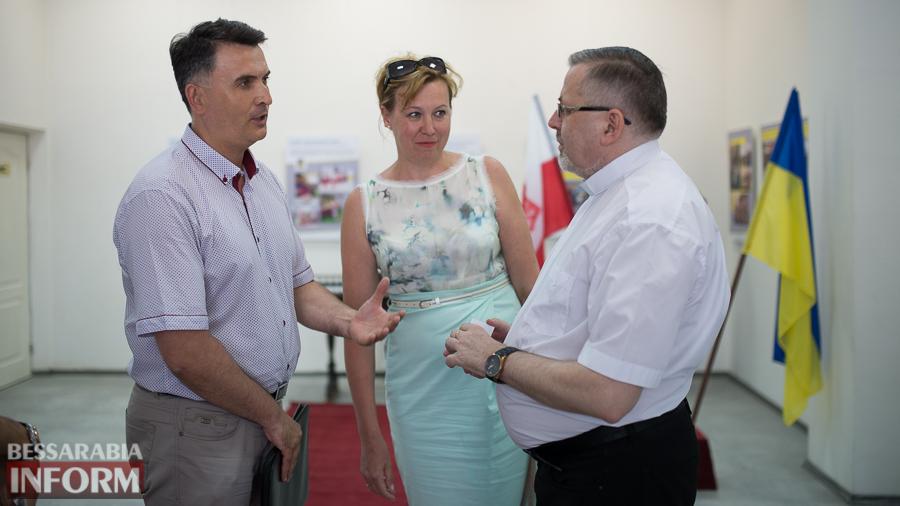 SME_9563 Измаил посетил Генеральный консул Польши в Одессе  (ФОТО)