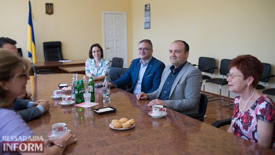 SME_9877 Измаил: ИГГУ принимал почетную румынскую делегацию (ФОТО)