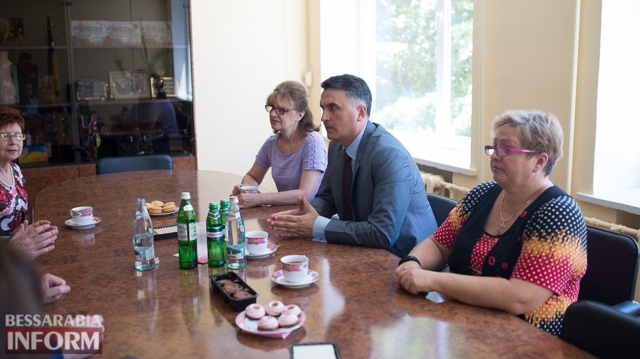 Измаил: ИГГУ принимал почетную румынскую делегацию (ФОТО)