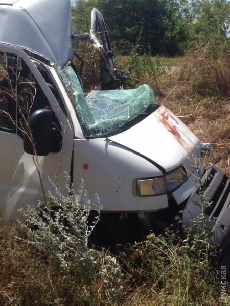 Массовое ДТП на трассе Одесса-Рени: столкнулись пять автомобилей и рейсовый автобус