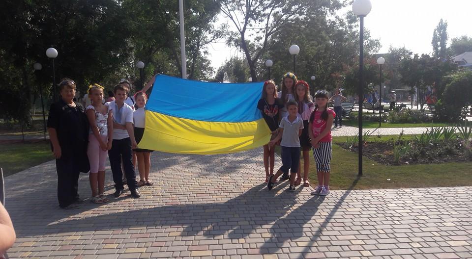 В Килии отметили День Государственного флага (фото)