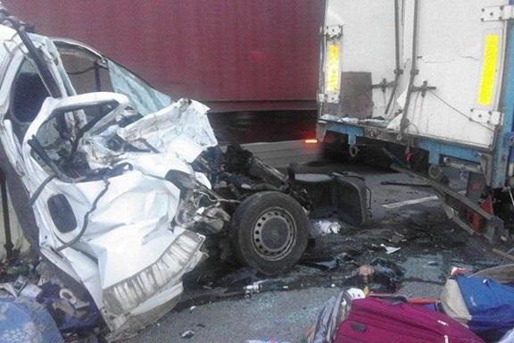 В ДТП на трассе Киев-Одесса погибли 8 человек, в том числе один ребенок