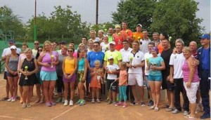 В Измаиле состоялся юбилейный турнир по теннису на Кубок городского головы