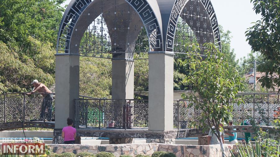 В Измаиле возле ДК им. Шевченко стартовал капитальный ремонт фонтана