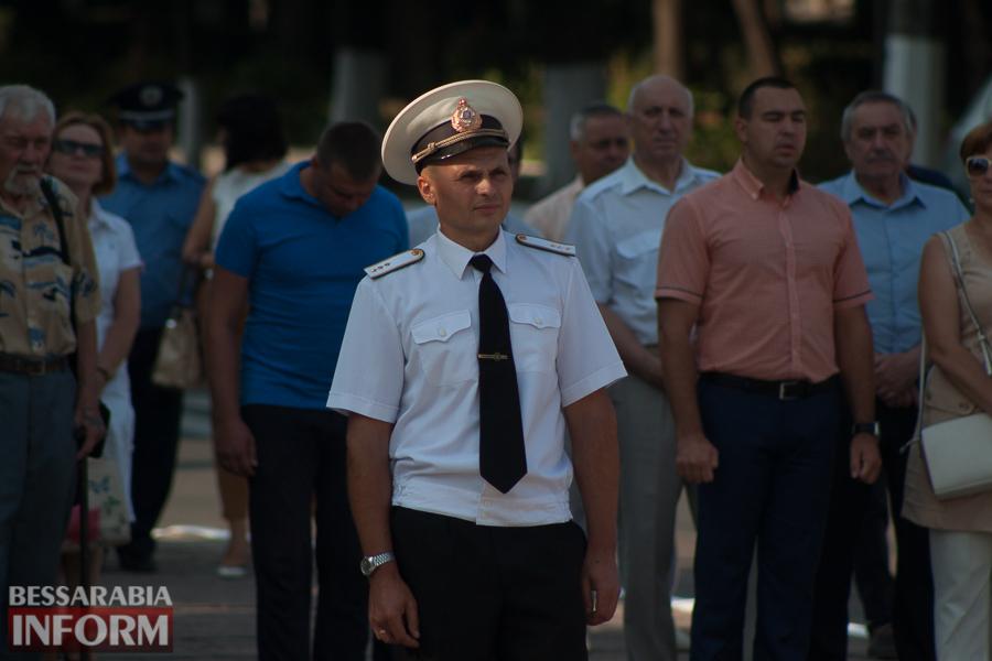 Торжественно и величаво: над Измаилом подняли национальный флаг (ФОТО)
