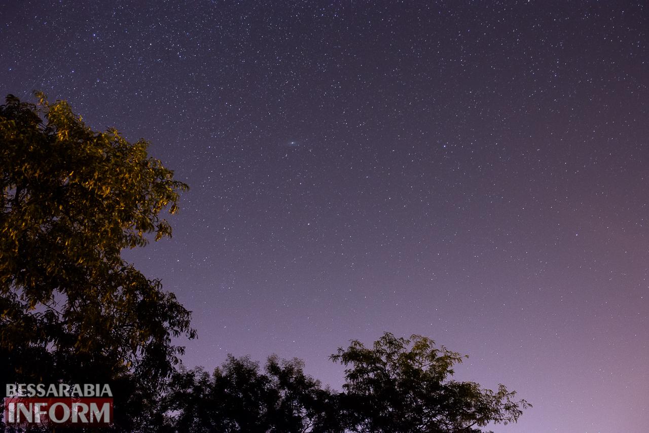 Фееричное звездное небо над Измаилом (фоторепортаж)