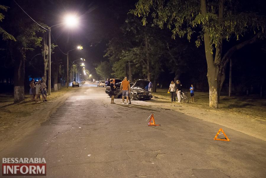 SME_3517 Измаил: водитель разбившегося ночью Nissana был нетрезв (фото)