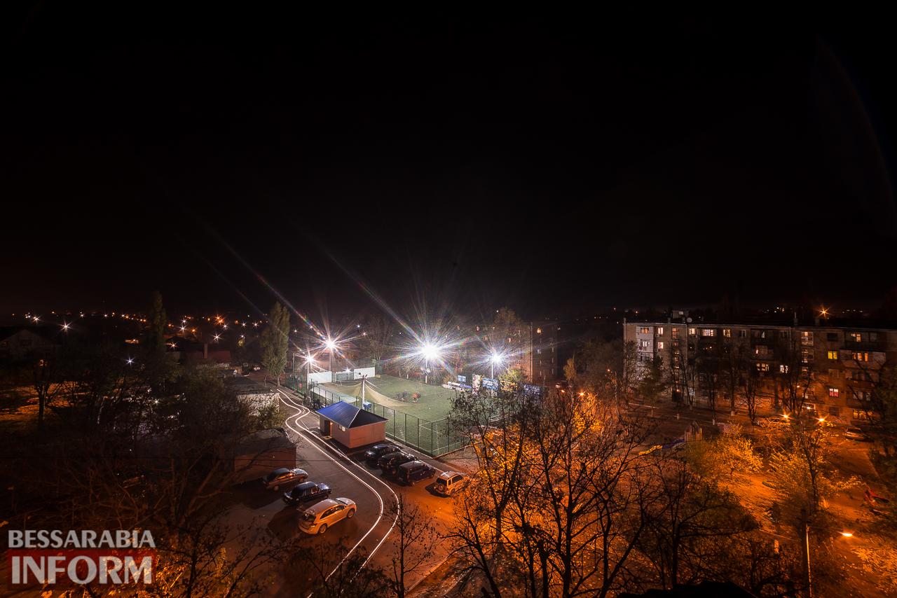 Фоторепортаж: ночной Измаил сквозь фотообъектив