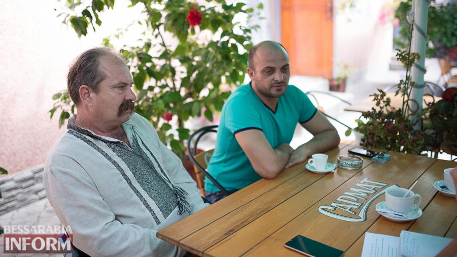 Измаильские добровольцы о борьбе за независимость на востоке Украины (фото)