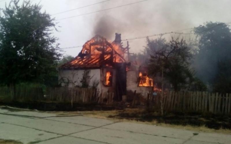 ceb81051147f476f1c0b0340ab2d7d43 В Килии почти дотла сгорел жилой дом (ФОТО)