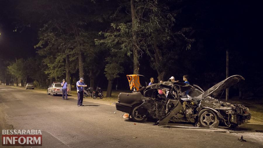 miniatyura Измаил: водитель разбившегося ночью Nissana был нетрезв (фото)