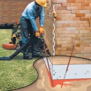 Выравнивание пола и заделывание трещин на стенах с применением новейших технологий в строительстве