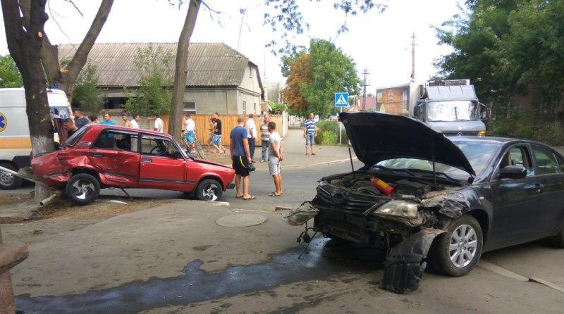 В течении часа в Измаиле произошло два серьезных ДТП (фото)