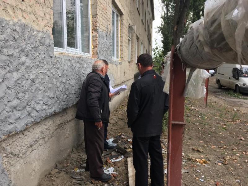 В Килии ремонтируют родильный дом (ФОТО)