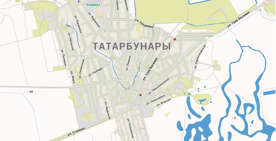 В Татарбунарах на улицах установили камеры видеонаблюдения